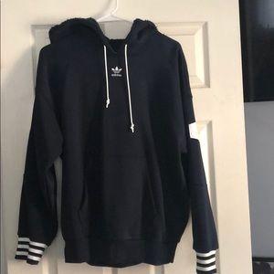 Adidas hoodie with Shepard hoodie